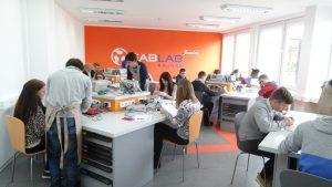 Diena su inžinerijos studentais