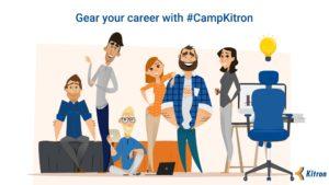 Studente, prisijunk prie apmokamos stažuotės #CampKitron!